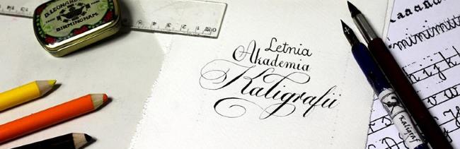 Letnia Akademia Kaligrafii 2017